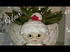 Amigurumi Tutorial Natale : Babbo natale amigurumi tutorial crochet you tube pinterest