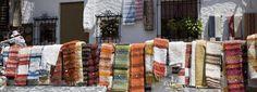 "In La Alpujarra (Granada), we can find places to learn to make ""jarapas""  http://www.jarapahilacar.com/"