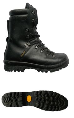 2261bfae94298c army lowa type boots marines issue combat goretex new at  www.armysurplusandtoys.com. Edmundo Lopez · survivals · Vintage LOWA  Mountaineering Leather Hiking ...