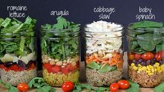 Have you tried the whole salad-in-a-jar thing? Sure makes eating our Reset salads a little less boring!