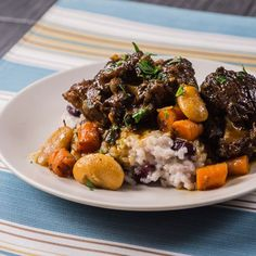 This wonderfully rich Jamaican oxtail stew will warm your soul and your tastebuds.