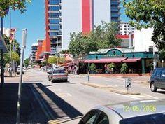 Mitchell street, Darwin Australia