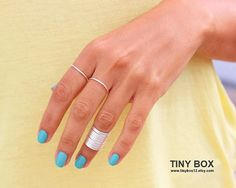 Hey, I found this really awesome Etsy listing at https://www.etsy.com/listing/124839580/12-stacking-rings-knuckle-rings-thin