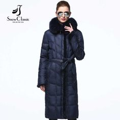 Down coat winter women real fox collar white duck down parka mink fur coat winter coat women warm Snow Classic high quality 2017 Like and Share if you want this Visit our store