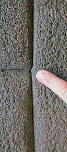 Détail de la finesse de l'artisanat d'une partie du travail mégalithique à Cusco au Pérou.