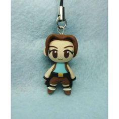 Lara Croft, keychain,mobile accessories,colgante de movil,llavero,tomb raider,video game,video juegos