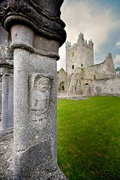 Jerpoint abbey. Kilkenny, Ireland.I want to go see this place one day. Please check out my website Thanks.  www.photopix.co.nz