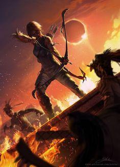 Lara ❤ Shadow of the Tomb Raider on Behance Tomb Raider Underworld, Tomb Raider Lara Croft, Playstation, Assassin, Tomb Raider Video Game, Tom Raider, Raiders Wallpaper, Rise Of The Tomb, Fanart