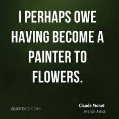 Claude Monet quote