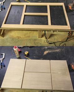 Laying out the face frame doors and drawers for Carpenters Crew project. A contemporary flat panel floating vanity done in all white oak. #funprojects #woodshop #woodshopfun #woodworking #woodwork #woodfab #oak #oakfurniture #modern #moderndesign #cabinetry #contemporary #customcabinets #modernfabsolutions de modernfabsolutions