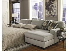Lovely Sectional Sleeper Sofa For Your Furniture: Buy Westen Granite Sectional  Sleeper Sofa RAF Corner Chaise With LAF Queen