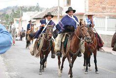 From Paseo de Chagra (parade of horses) in Cotacachi