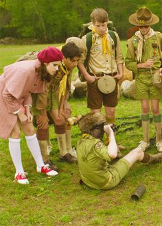 moonrise kingdom wes anderson scouts colour-design-and-costume-the-films-of-wes-anderson/ Moonrise Kingdom, Kara Hayward, Wes Anderson Movies, 2012 Movie, Film Inspiration, Family Movie Night, Bruce Willis, Film Review, Boy Scouts