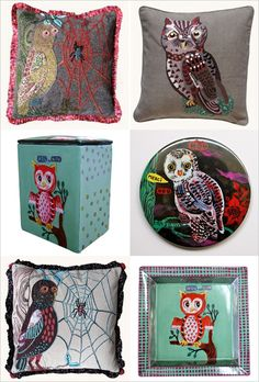 owl collection. Nathalie Lete.