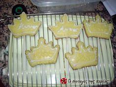 Γλάσο για μπισκότα #sintagespareas Recipe Images, Cake Cookies, Sweet Recipes, Tapas, Good Food, Sweets, Cooking, Birthday, Interesting Recipes