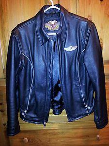 Harley Davidson 100th Anniversary Items | 100th Anniversary Harley Davidson Leather Jacket, Womens Medium, RARE ...