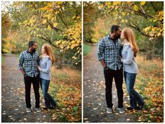 Fall couples photos at the Hoyt Arboretum in Portland by Katy Weaver