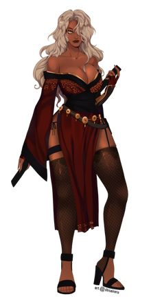 Female Character Concept, Fantasy Character Design, Character Design Inspiration, Character Art, Fantasy Art Women, Dark Fantasy Art, Fantasy Girl, Black Anime Characters, Fantasy Characters