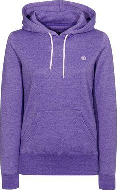 Element Roma-Hooded Hooded-Sweatshirt purple-melange | Titus Onlineshop