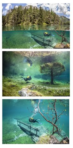 Posted: 09/06/13 EDT Underwater Hiking In This Austrian Lake Looks Like The Coolest Scuba Diving Adventure Ever