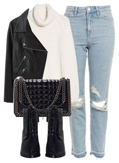 """""""Untitled #6384"""" by laurenmboot ❤ liked on Polyvore featuring Topshop, MANGO, Acne Studios, Zara and Zimmermann"""
