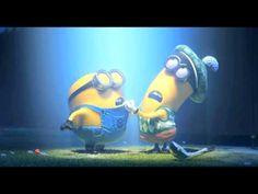 "DESPICABLE ME 2 Trailer... Love the way the minion sings the lullaby haha ""bo doo bleeb, bo boo geep, bo dwa da doo da dwa maaaaah."""