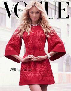 Красное платье с кружевом Dolce&Gabbana. Модные платья - купить в интернет-магазине vivita.ru