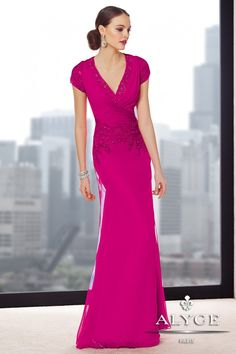 Mother of the Bride | Jean de Lys Dress Style #29696  | Fall 2014