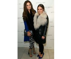 Binky Felstead And Louise Thompson Nail Spring Layering
