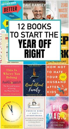 12 inspiring books to start the year off right – Everyday Reading 12 inspiring books to start the year off right – Everyday Reading Best Books To Read, Good Books, My Books, Free Books, Books For Moms, Books For Teens, Book Suggestions, Book Recommendations, Book Club Books