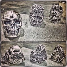 Oldfather Skull, Chulthu, and Ashura Ring.