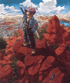 quisio: Best character ever! Trunks el trunks que viene del futuro es muy badass pero el del GT es muy maricon