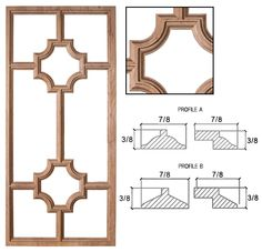 Find grid style for basement Cabinet Door Styles, Cabinet Doors, Entry Closet, Finish Carpentry, Wood Windows, Built Ins, Plumbing, Wall Design, Woodworking Plans