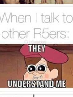 "Totally! But then they try and say that Ross is theirs and im just like ""Um, no. he's mine."""