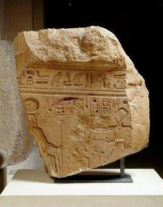 Fragment de naos dit Naos Paponot Cote cliché 04-501646 N° d'inventaire E20572 Fonds Antiquités égyptiennes Description: Scènes rituelles exécutées par Ramsès II Note de l'image intérieur : Ramses fait l'encensement du dieu Khépri trônant Période 13e siècle av J.-C. règne de Ramsès II (1279-1213) Site de production Egypte (origine) Lieu de découverte Tell el-Maskhouta (site) (origine) Technique/Matière quartzite , relief (sculpture) Dimensions Hauteur : 0.86 m Largeur : 0.8 m Profondeur…