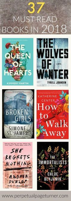 must read list of fiction books coming out in 2018