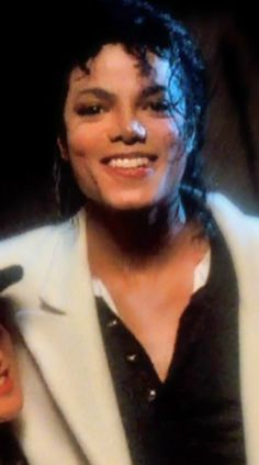 "He in the movie ""Moonwalker"" Michael Jackson Bad Era, Jackson 5, Jackson Family, Beautiful Smile, Most Beautiful, Invincible Michael Jackson, Love U Forever, King Of Music, The Jacksons"