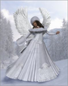 Winter Angel by CaperGirl42 on DeviantArt