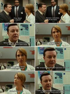 Ricky Gervais, Ghost Town.