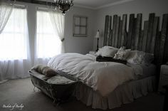 My dream bedroom! Country chic'!