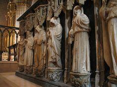 catedral de pamplona sepulcro Carlos III el noble y Leonor de Castilla