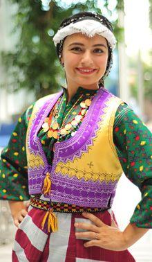Turkish woman from Trabzon, Eastern Turkey