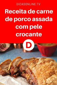 Carne de porco assada no forno | Receita de carne de porco assada com pele crocante | Olhe para esta pele crocante!