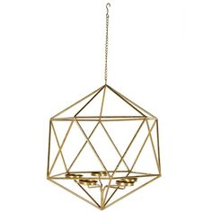 Crystal Shaped T-Light Holder in Gold ($100) ❤ liked on Polyvore featuring home, home decor, candles & candleholders, crystal tealight candle holders, gold home decor, crystal tealight holder, crystal home decor and crystal tea light holder