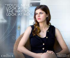 Alexandra Daddario's Monica chooses to face the truth. #TheChoice