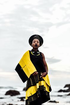South-Africa-by Dapper Lou. Lougè Delcy is a Brooklyn native of Haitian heritage who experiences life through a creative lens. Xhosa Attire, African Attire, African Dress, African Fashion Designers, African Men Fashion, African Women, Latest African Styles, African Traditional Dresses, Textiles