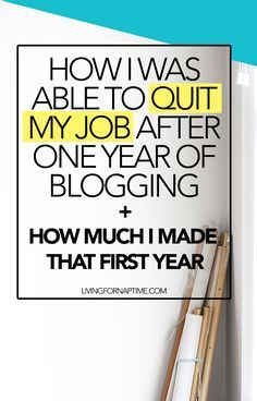 This mom turned her blog into a full time career in just one year. Find out how she did it.