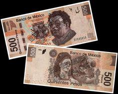 Le nouveau billet de 500 pesos mexicain