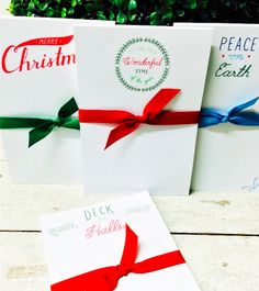 It's true...Christmas is exactly 9 weeks away! Get in the spirit with our *new* holiday notepads!