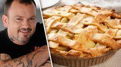 Νηστίσιμη Μηλόπιτα | alevri.com Greek Recipes, Apple Pie, Sweet Tooth, Recipies, Food And Drink, Sweets, Desserts, Food Project, Coffee